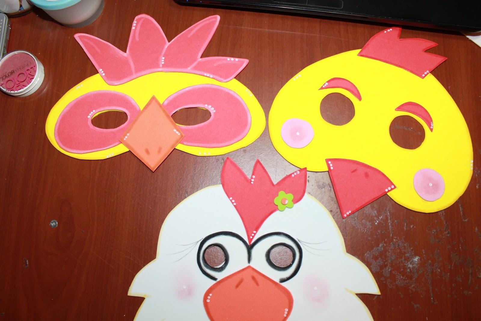 Como Hacer Mascaras De Fomi