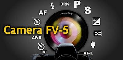 menggunakan camera fv5