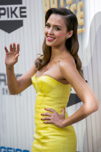 Jessica Alba Best Dressed at 2013 Spike TV Guy's Choice Awards