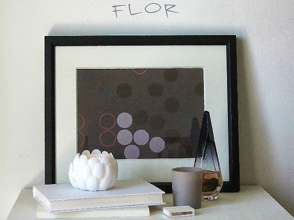 DIY portavelas flor