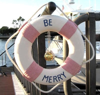 be merry life preserver ring