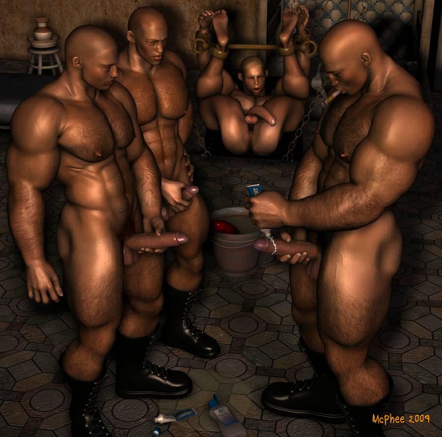 Bang gang orgy tit