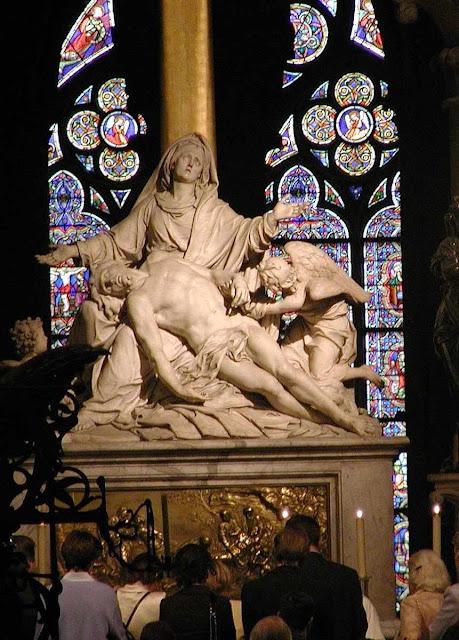 Altar do voto de Luís XIII