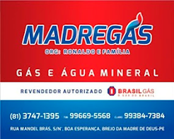A distribuidora de gás e água mineral da família brejense