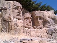 Mount Rushmore LegoLand CA