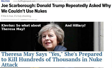 Trump: Why wouldn't I? Theresa May: I would!