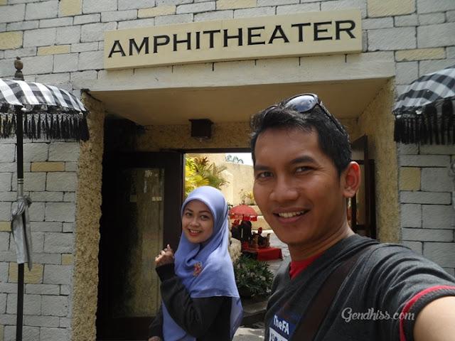 Amphitheater Taman Budaya Garuda Wisnu Kencana