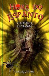 Capa do livro O Escritor Fantasma autor Edgar J. Hyde