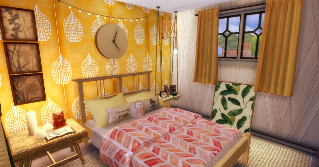 My Sims 4 Blog Cozy Boho Bedroom