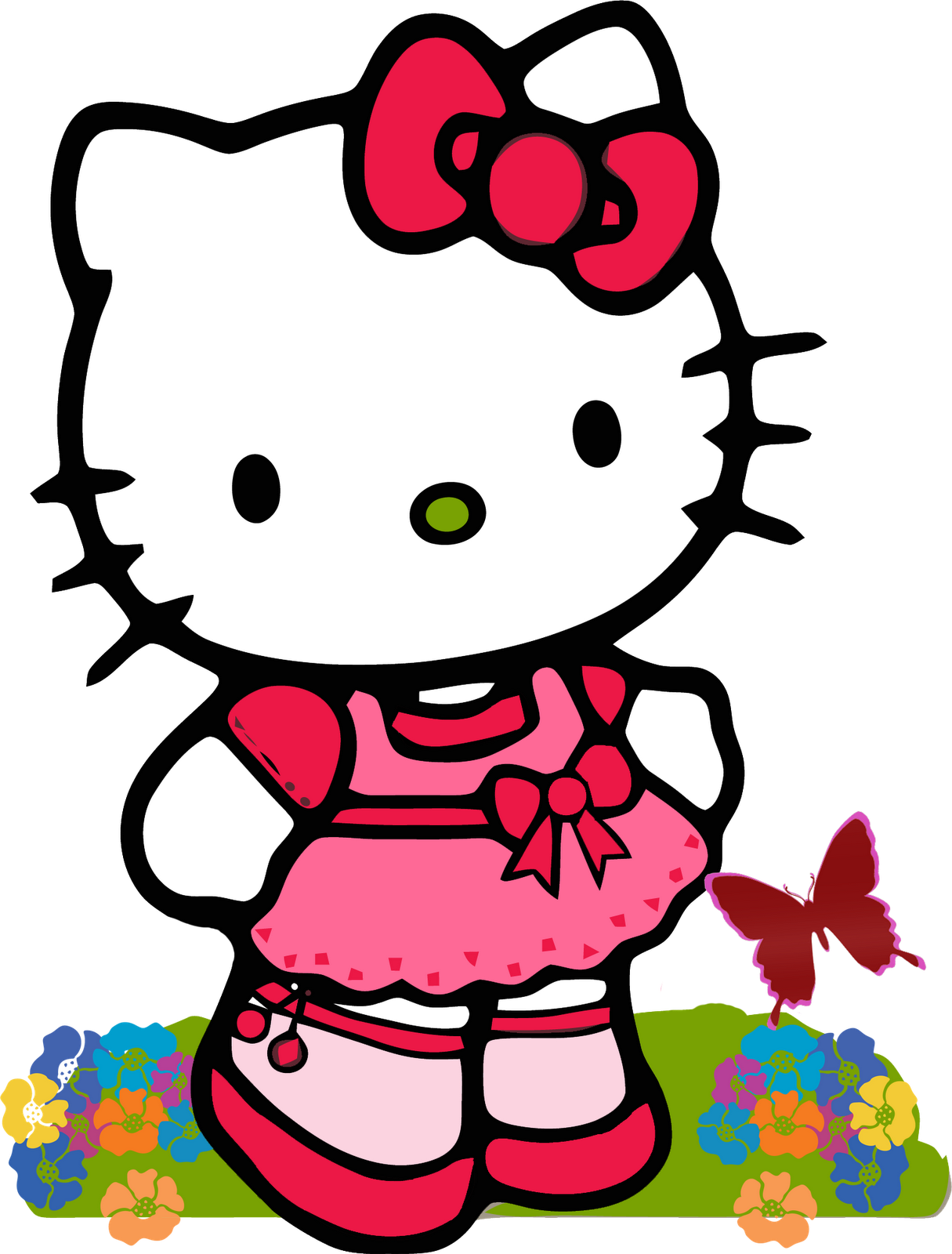 Kumpulan Gambar Hello Kitty  Gambar Lucu Terbaru Cartoon Animation Pictures