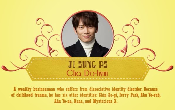 Ji Sung  As Cha Do-Hyun