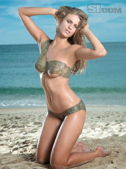 Si Swimsuit Body Paint Julie Henderson