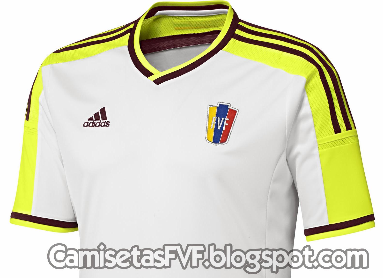 f3ed13f83a71e Hoy adidas ha presentado oficialmente las nuevas equipaciones de la  selección venezolana. Y tal como te mostramos en nuestro anticipo