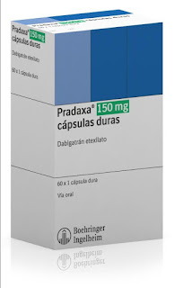 Imagen del envase de Pradaxa 150mg