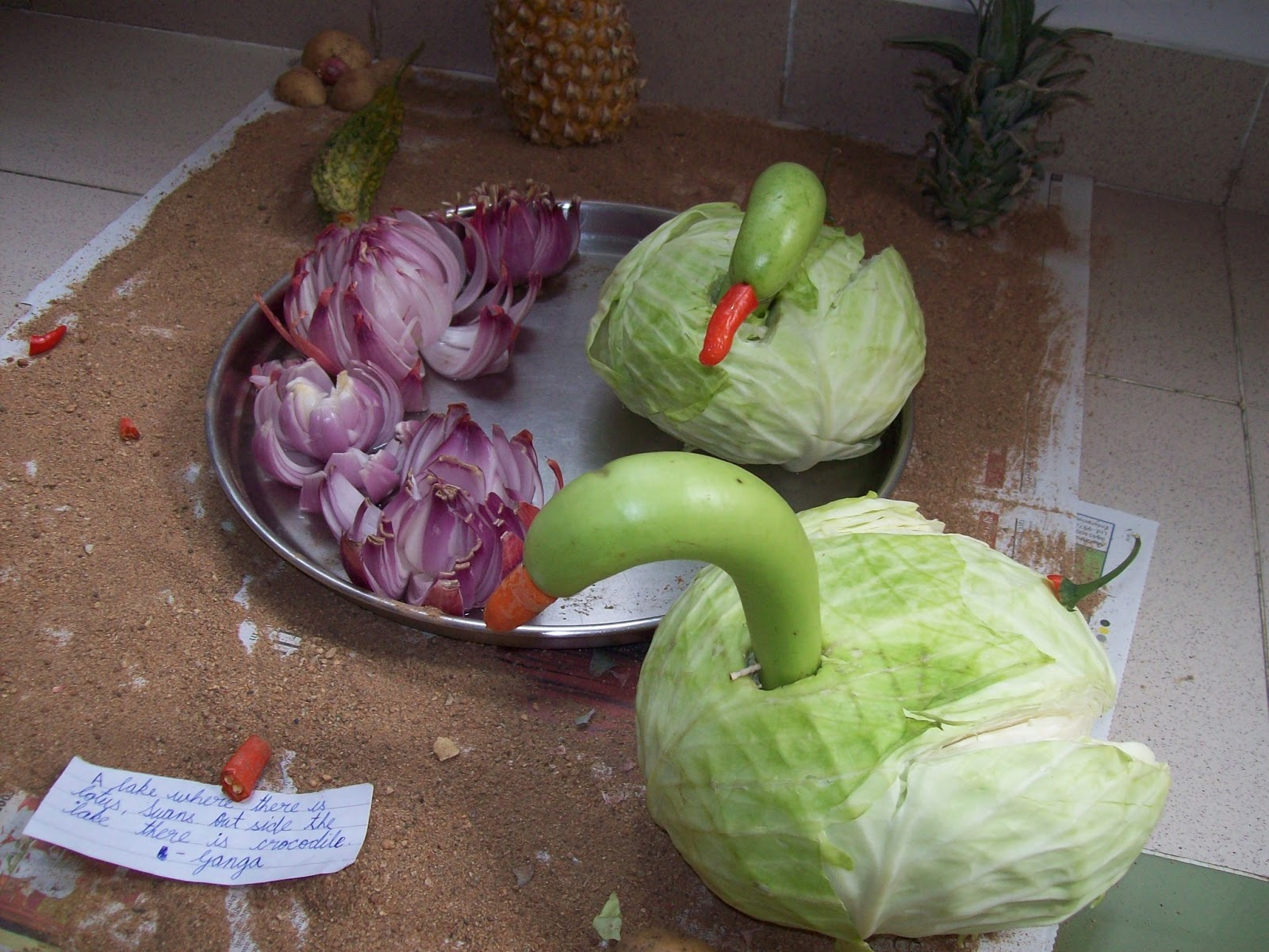 Gardentropics v for vegetable carving