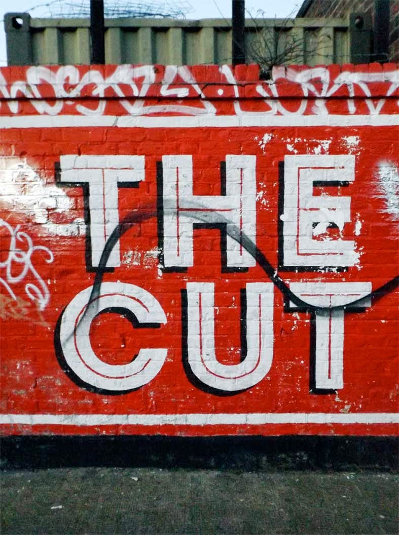 the cut painting hackney wick london