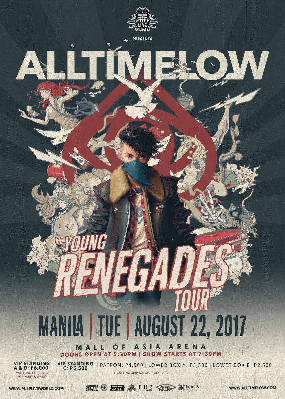 All Time Low Live in Manila