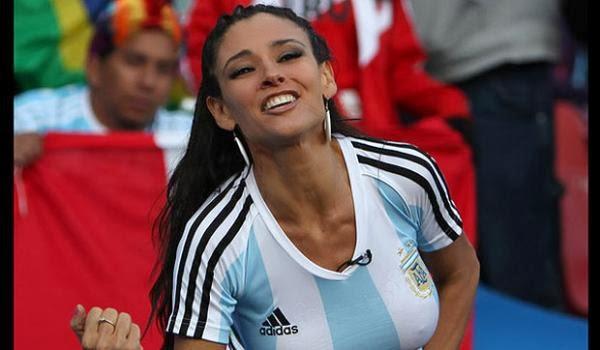 Bellezas del mundial. Argentina2
