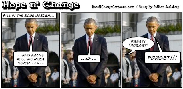 obama, obama jokes, cartoon, conservative, tea party, syria, al-qaeda, libya, benghazi, lies, hillary, stilton jarlsberg, hope n' change, hope and change