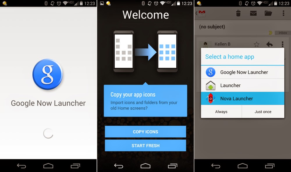 Google Now Launcher available for all Android smart phones running on Android 4.1 and above from today