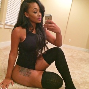 See the lady they say is the hottest video vixen in the world right now