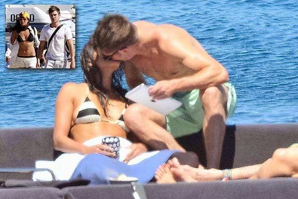 Michelle Rodriguez Zac Efron kiss
