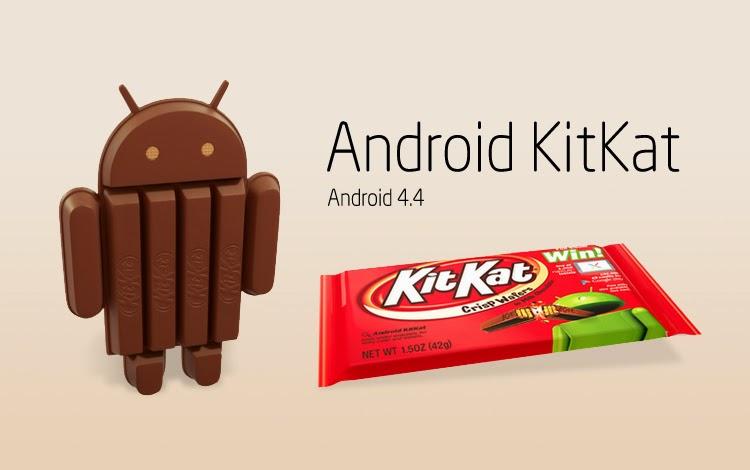 Android KitKat cada día gana mas terreno