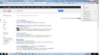 Optimasi SEO melalui Internet Explorer / IE - Klik kanan pada mouse