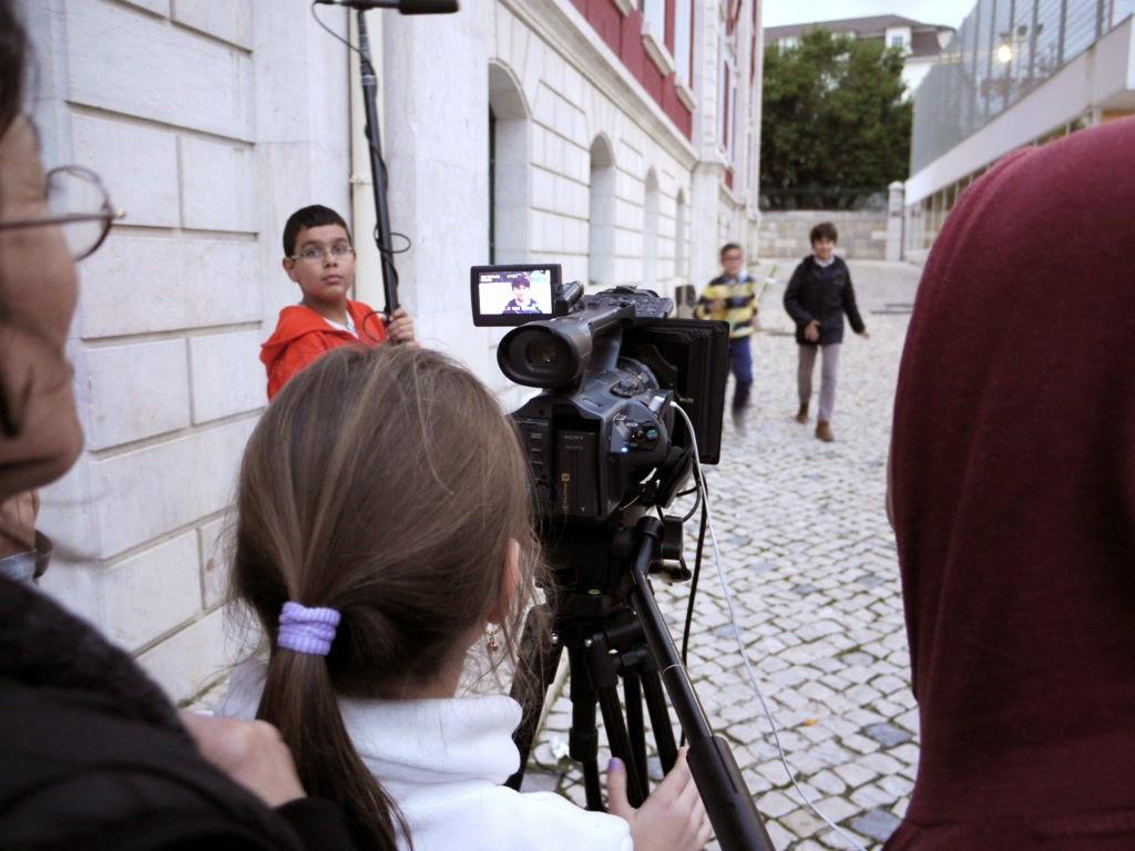 O MUNDO À NOSSA VOLTA - Cinema, cem anos de juventude - E.S. Passos Manuel - Lisboa - Filmagem Exercício @ E.S. Passos Manuel