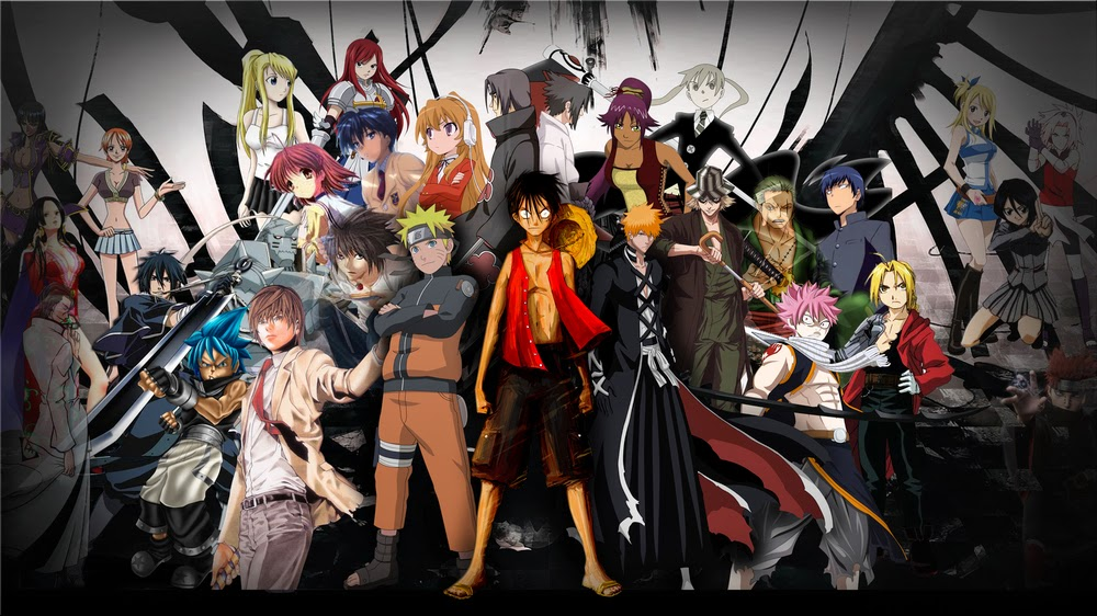 List of Popular Anime Shows in the Western World