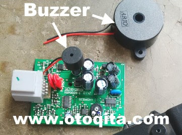 Ganti buzzer sensor parkir mobil avanza