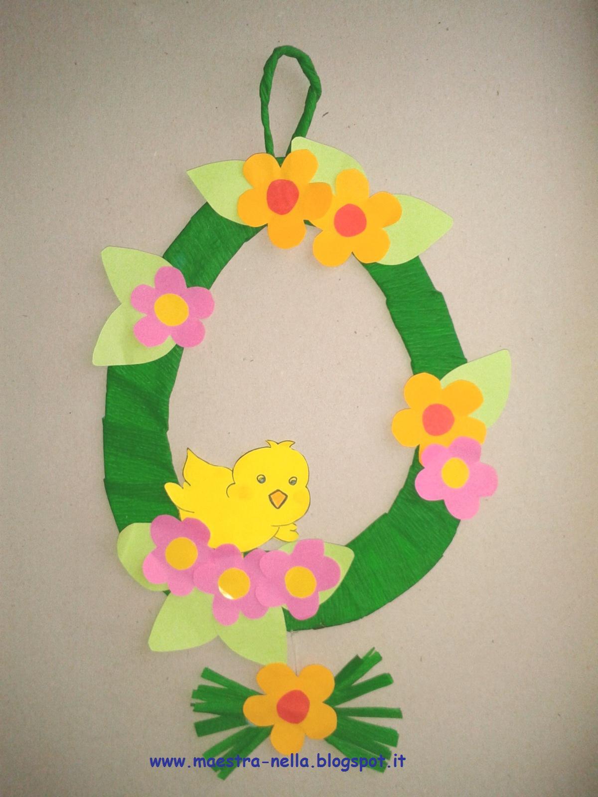 Maestra nella decorazione pasquale - Decorazioni uova pasquali per bambini ...