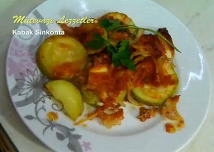 Kabak Sinkonta (İzmir - Ege Yemekleri) - Videolu Tarifi