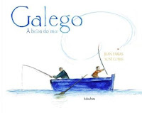 cuberta do libro Galego. Á beira do mar