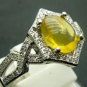Cincin Batu Permata Fire Opal - SP759