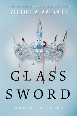 Cover of Glass Sword by Victoria Aveyard on Amber, the Blonde Writer