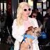 FOTOS HQ: Lady Gaga llegando a un aeropuerto en Los Ángeles - 23/12/15
