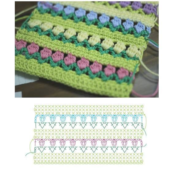 Dinah crochet wip crochet cushion cover pattern asal dan diagram ccuart Gallery