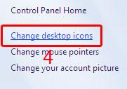 Cara Mengubah icon pada windows 7