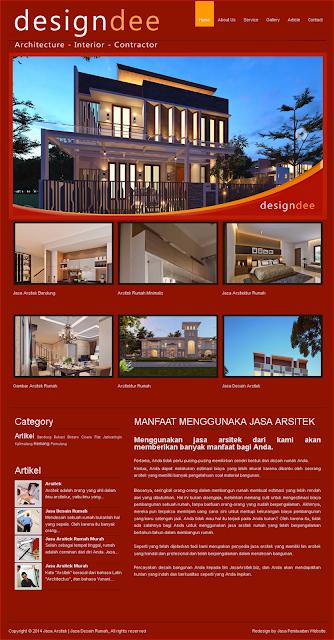 Contoh Design Web