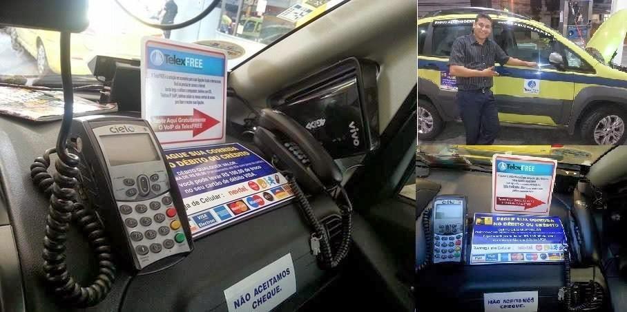 Первое в мире такси с VoIP связью от компании Телексфри