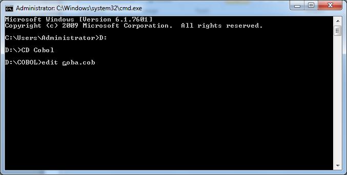 cobol%2B2 - Cara Menjalankan Cobol Compiler