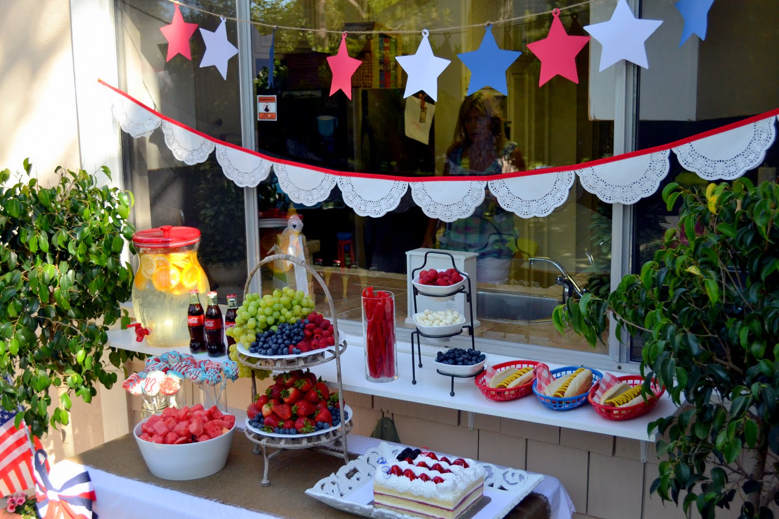 4Th Of July Backyard Party Ideas fourth of july backyard party - celebrate - little miss momma