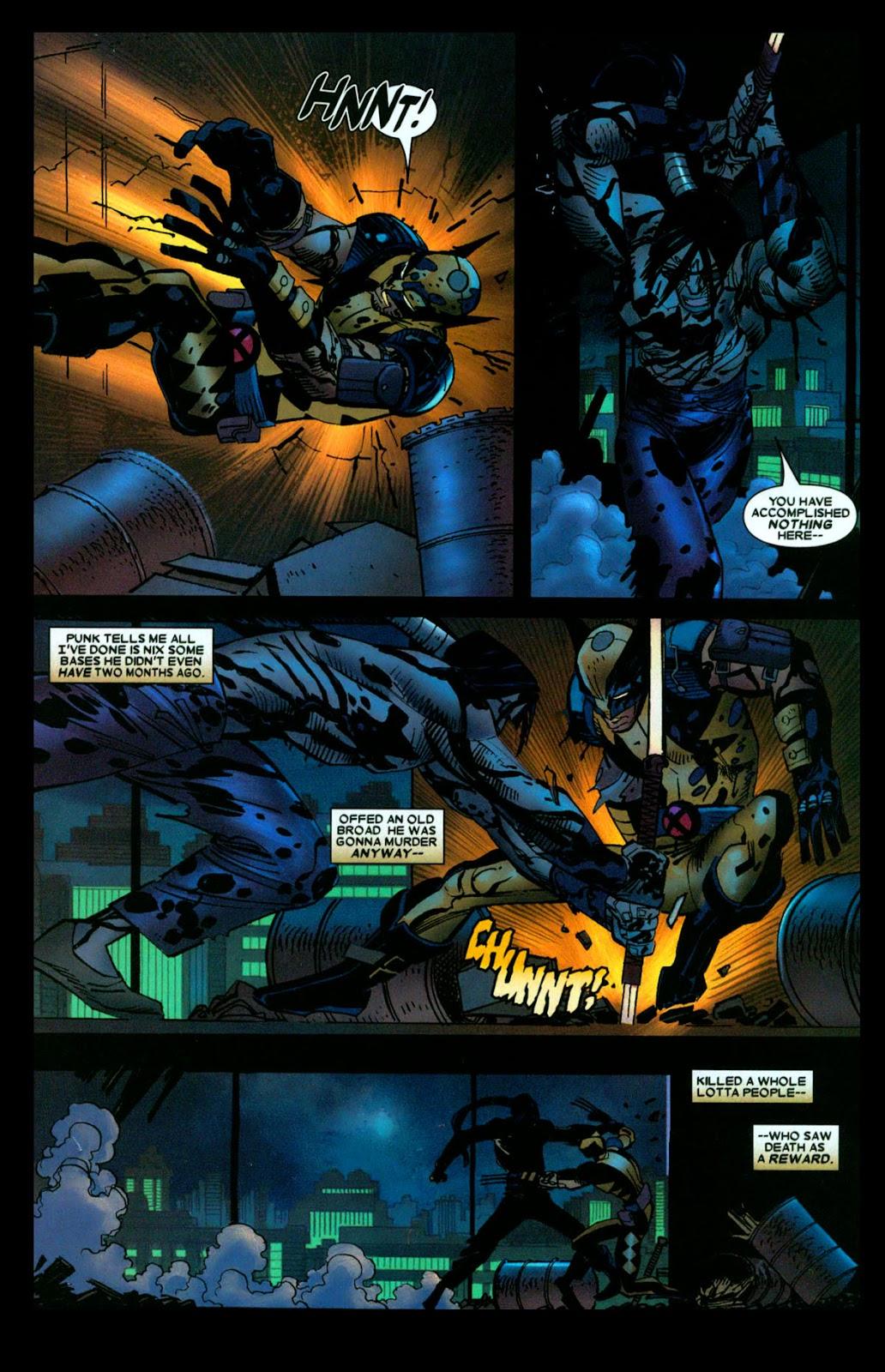 Read online Wolverine (2003) comic -  Issue #31 - 13