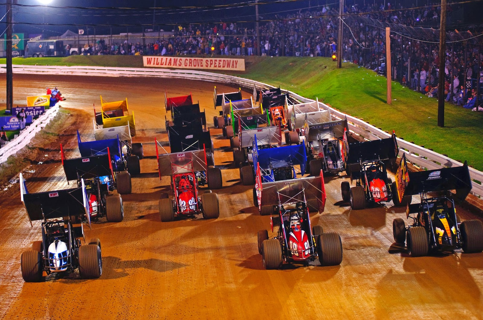 Starting in 1939, Williams Grove Speedway has been one of the top sprint car tracks in the country.  The speedway is a ½ mile banked smooth clay oval with speeds reaching in excess of 100 mph.  The 2016 racing season runs from March 18th to October 7th.