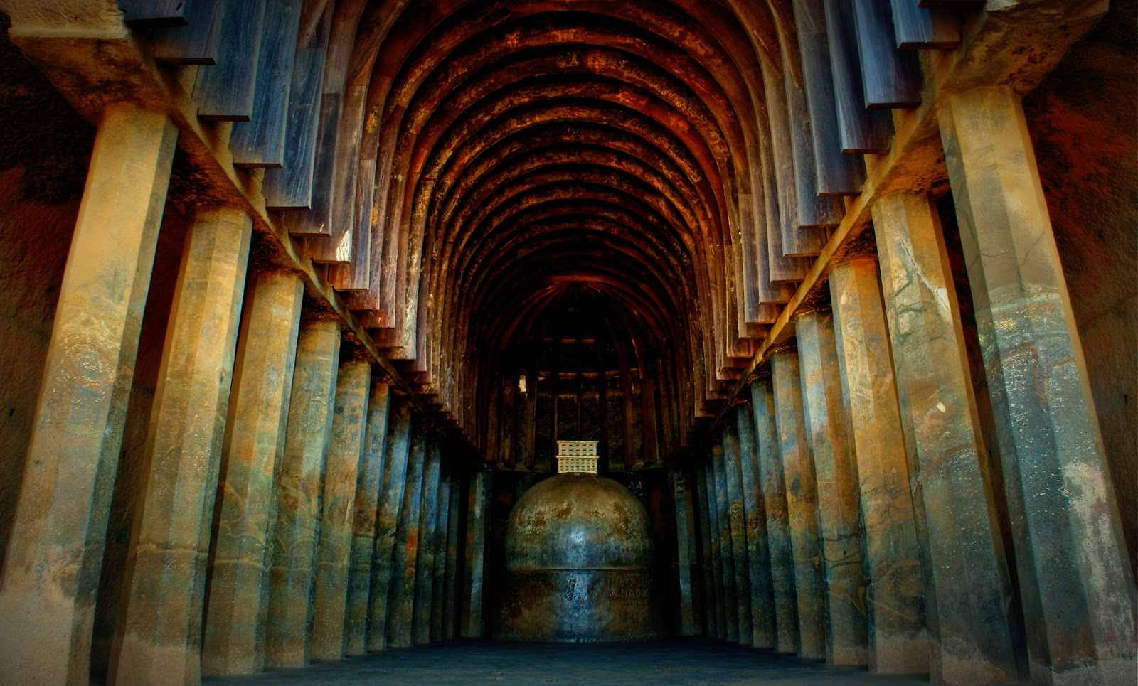 An Ode To History A Photo Montage Vijaydurg Fort - Another interesting and somewhat mysterious feature of bhaja caves is a semi open cave full of stupas the stupas can be found around 30 meter from the