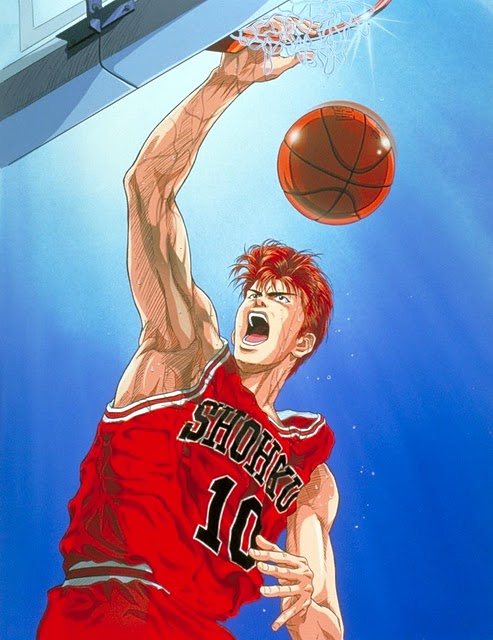 Slam Dunk Cartoon Image