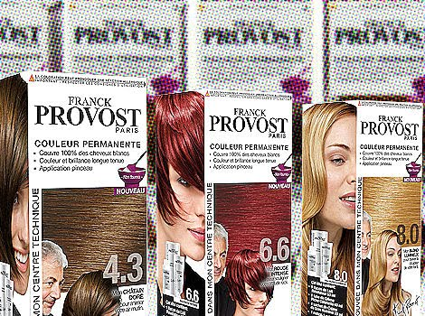 cest lvnement de la rentre dans les linaires capillaires des grandes surfaces franck provost lance sa premire gamme de coloration - Coloration Franck Provost