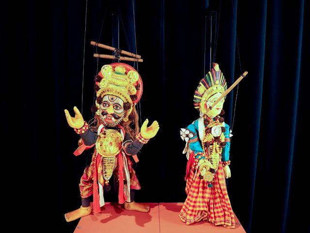 Marionetas, India. TOPIC de Tolosa