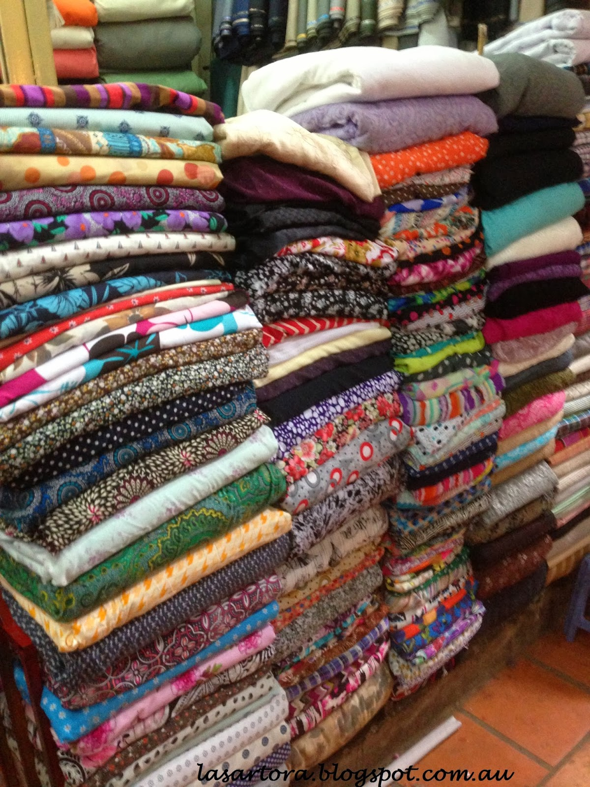 Fabric shopping vietnam and cambodia for Fabric sellers